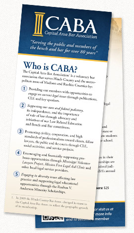 CABA Push Card
