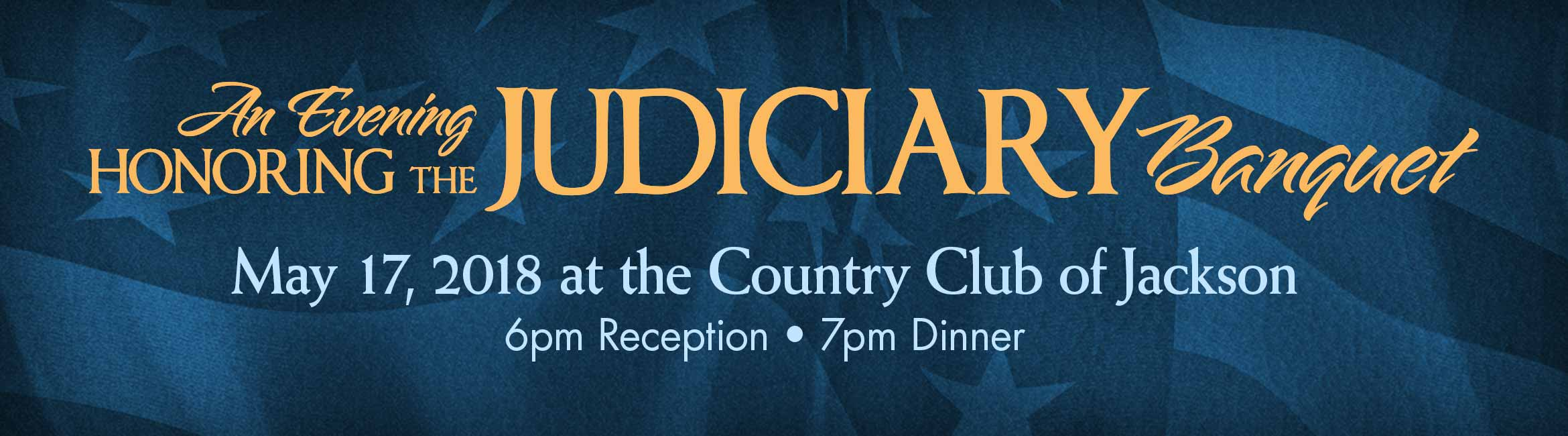 An Evening Honoring the Judiciary